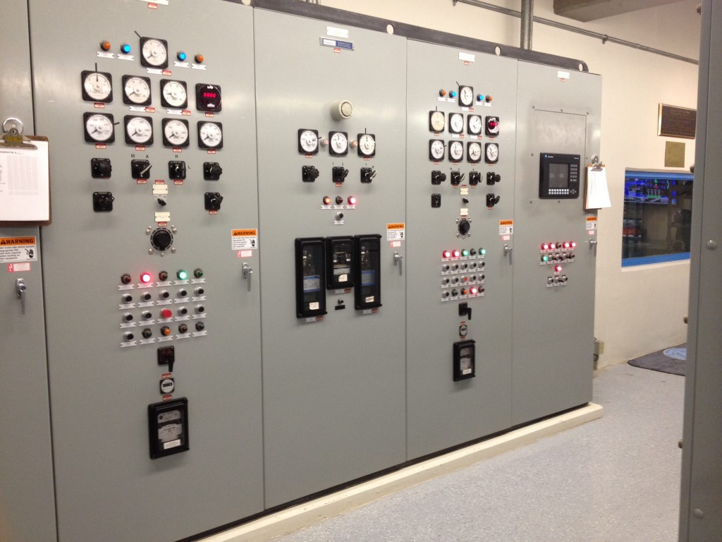 These instruments give a real-time peek into the operating conditions of each of the two generators.