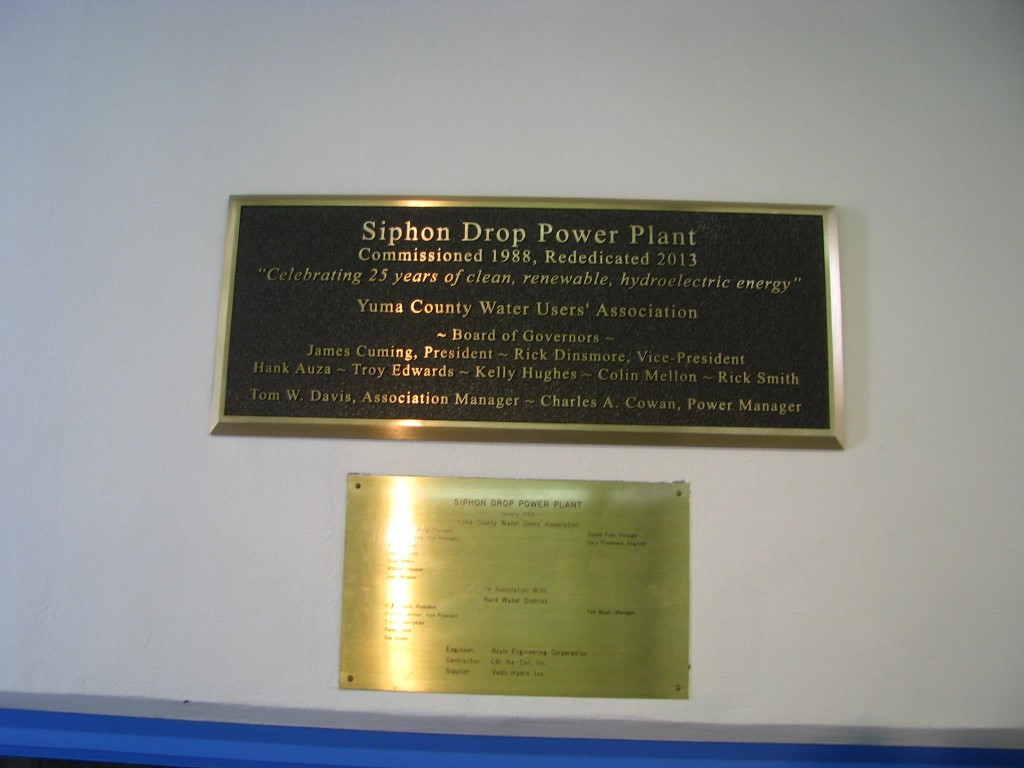 The day was memorialized with the setting of a new plaque.