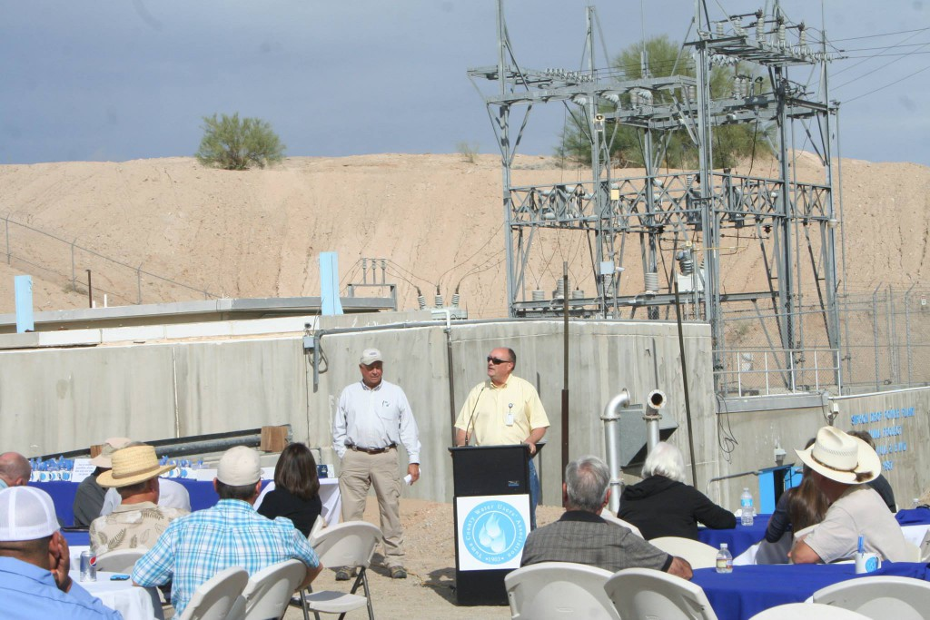 Don Bryce, an electrical engineer for the U.S. Bureau of Reclamation (Boulder/Regional power office) spoke to the group about the power history within the Association.